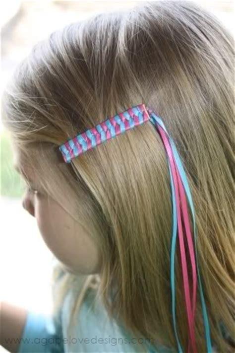 tread hair style for children agape love designs unbeweaveably cute barrette