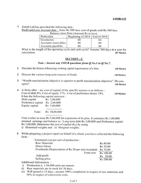 Mba 2nd Sem Question Paper 2016 by 2nd Semester Mba Jun 2016 Question Papers
