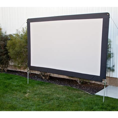 backyard movie screen outdoor movie screens