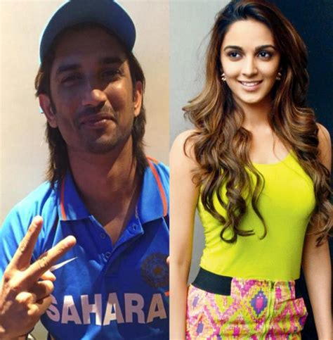 dhoni biography movie name kiara advani to play sushant singh rajput s wife in m s