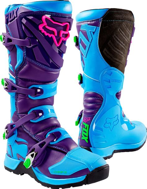closeout motocross boots fox racing mens special edition comp 5 vicious mx
