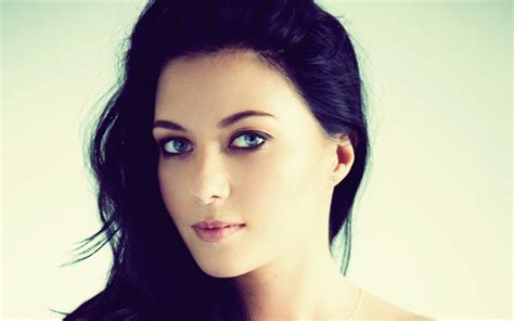 dark haired women women blue eyes faces black hair elena romanova medium