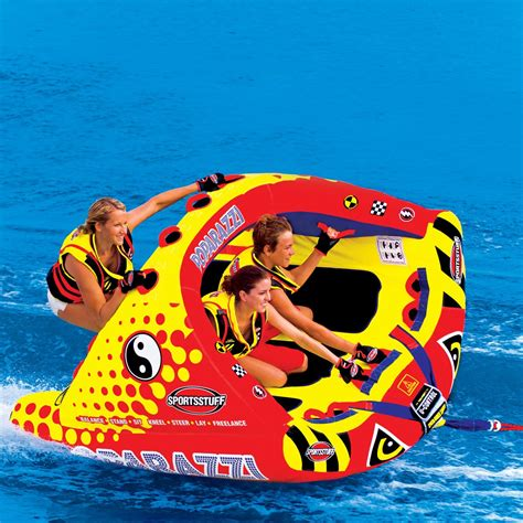 boat towables canada poparazzi inflatable triple rider towable airhead