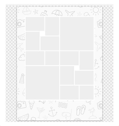 35 photo collage templates free psd vector eps ai