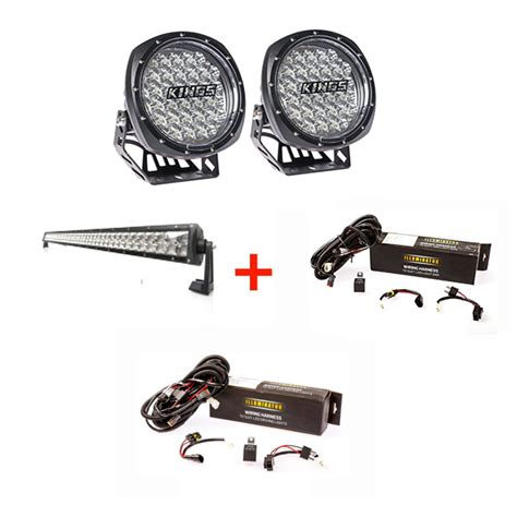 illuminator 7 quot led driving lights pair 32 quot led