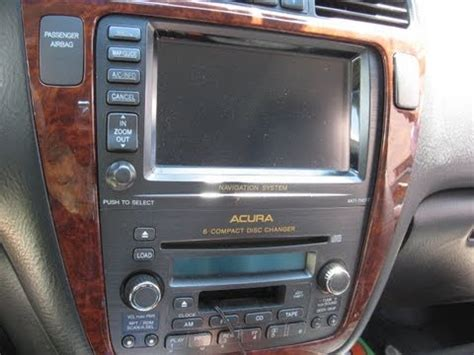 how to fix cars 1999 acura rl navigation system how to remove navigation dvd player from acura mdx 2004 for repair youtube