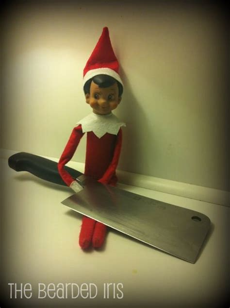 On Shelf Creepy by As If The On The Shelf Could Get Any More Creepy Elfgasm Elves Creepy And