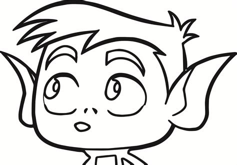 coloring pages beast boy beast boy free colouring pages