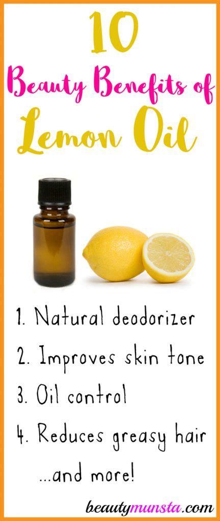 Lemon Detox Skin Benefits by Top 10 Benefits Of Lemon Essential Beautymunsta
