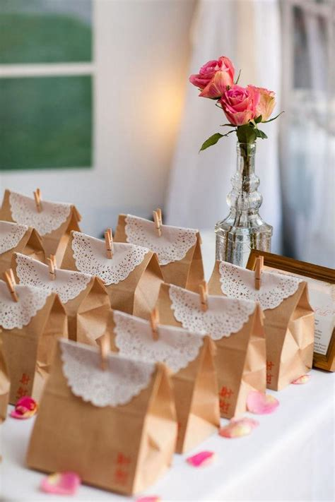 diy vintage wedding favors handmade vintage gift bag