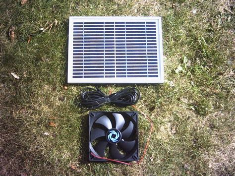 Solar Swimsuit To Power Gizmos by Hipower Solar Panel And 14cm Fan Kit For Solar Ventilation