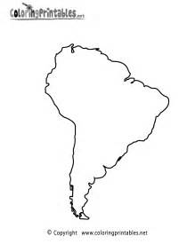 south america map coloring page a free travel coloring