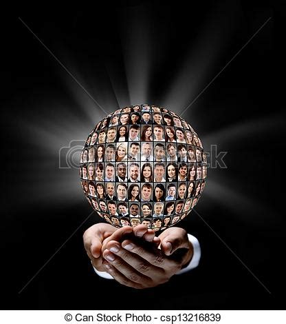 stock photos of holding a earth globe with people in his