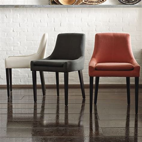 modern restaurant furniture dining chair modern dining chairs by west elm