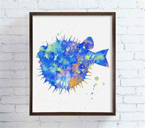 fish wall decor for bathroom watercolor fish bathroom decor coastal wall art sea life