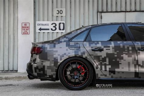 Audi A4 B8 Bremssattel Aufkleber by Audi A4 S4 B8 Strasse Wheels R10 Folierung Camouflage