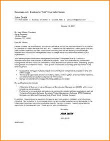 Project Leader Cover Letter by 4 Project Manager Cover Letter Bid Template