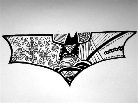 batman mandala tattoo batman logo doodle by lipterioscopic on deviantart