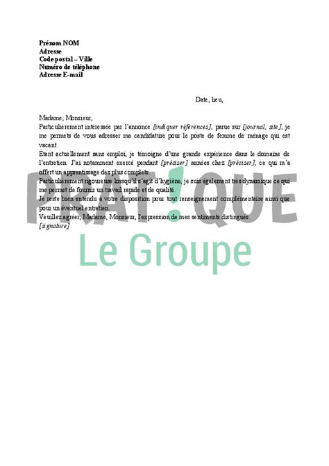 Lettre De Motivation Candidature Spontan E Pour La Mairie image lettre de motivation candidature spontan 195 169 e