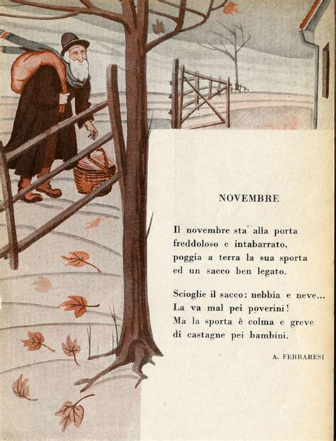 november testo novembre i testi della tradizione di filastrocche it