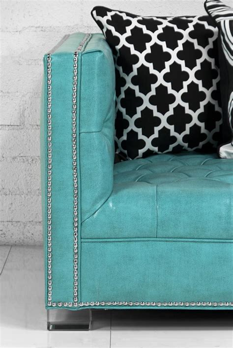 turquoise leather sectional sofa turquoise leather sectional sofa thesofa