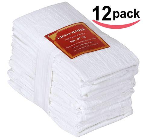 12 kitchen dish towels commercial grade 100 cotton flour sack towels dish cloth kitchen towels pure cotton 12