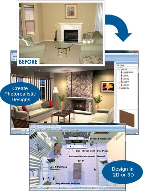 Home Interior Designing Software by Interior Home Design Software Virtual Architect