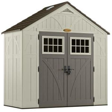 Suncast Shed Home Depot by Suncast Tremont 4 Ft 3 4 In X 8 Ft 4 1 2 In Resin