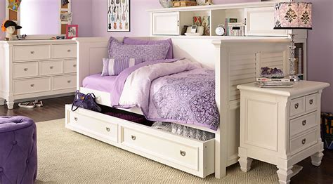 bedroom sets for teenagers belmar white 7 pc daybed bedroom teen bedroom sets colors