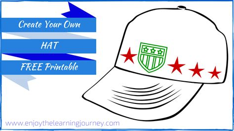 Children S Books About Hats With A Free Printable Enjoy Create Your Own For Free