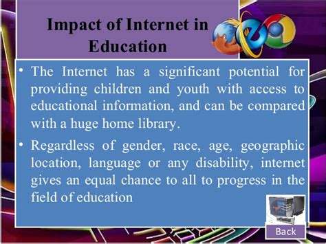 thesis about internet in education role of internet in education essay