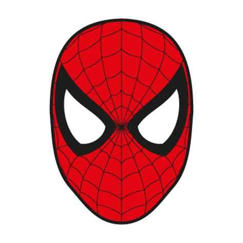 printable spiderman elf mask spider man logos in vector format eps ai cdr svg free