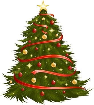 christmas tree vector  vector