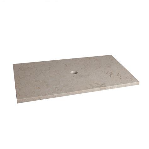 marmor waschtisch marmor waschtisch platte creme 80x52x3cm bei wohnfreuden