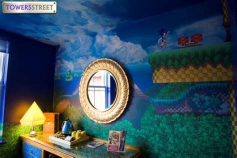 sonic the hedgehog wallpaper for bedrooms towersstreet gallery sonic the hedgehog room sonic