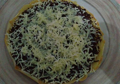 Teflon Martabak Manis resep martabak manis teflon oleh wisny cookpad