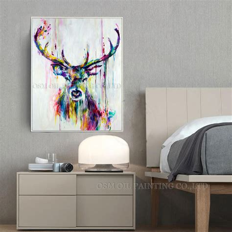 Top Selling Handmade Items - paintings deer picture more detailed picture about best