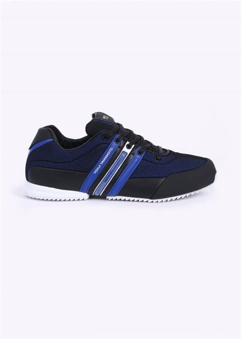 Adidas Y3 Yohji Yamamoto Premium 1 y3 sprint trainers blue black