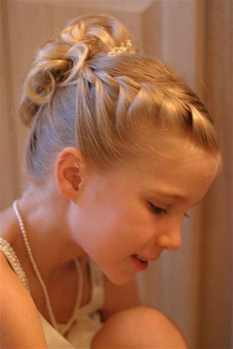 flower girl braided hairstyles for weddings little girls stylish hairstyles ideas for wedding function