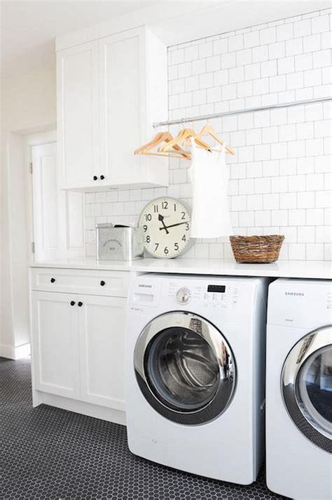laundry room floor cabinets dress up your laundry room subway tile backsplash