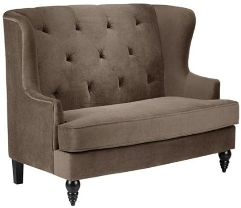 Upholstered Settee Bench With Back Upholstered Bench With Back