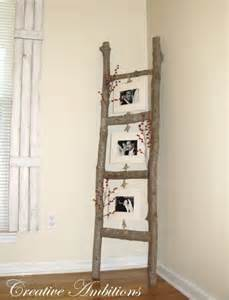 ladder home decor 40 rustic home decor ideas you can build yourself page 4