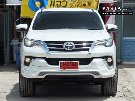 Kit Fortuner 2016 Mdl Lx Steel thailand 2016 toyota fortuner with custom bodykit looks