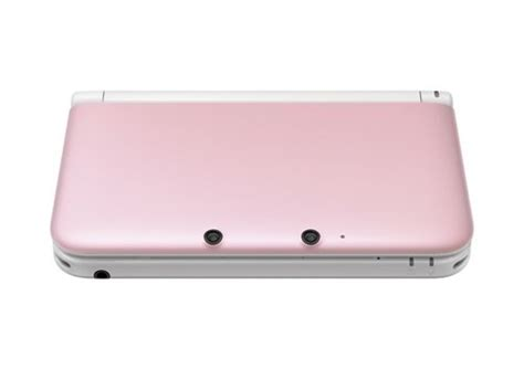 nintendo handheld 3ds xl pink nintendo 3ds xl console pink and white gamechanger