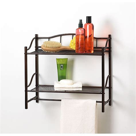 bronze wall shelf rubbed walmart