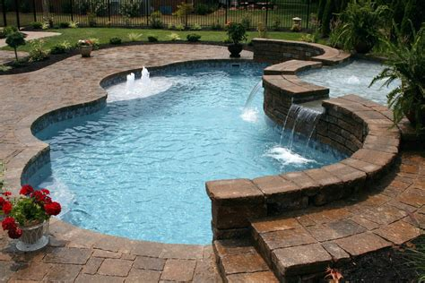 backyard inground pools small backyard inground pool inspirations with beautiful pools for backyards ideas