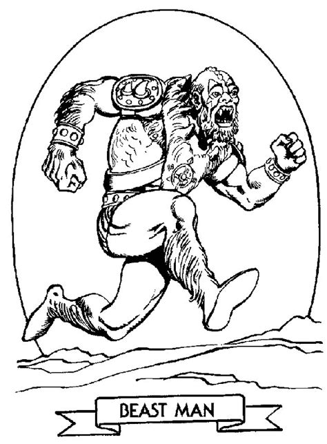 krafty kidz center he man coloring pages