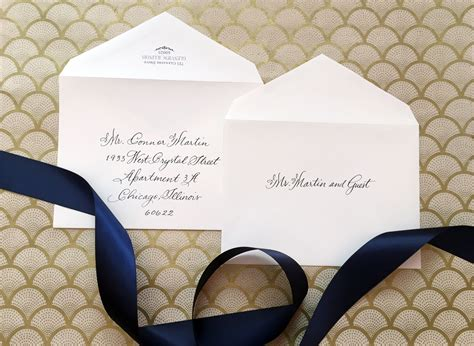 Wedding Invitations Envelopes by How To Address Wedding Invitations Without Inner Envelope