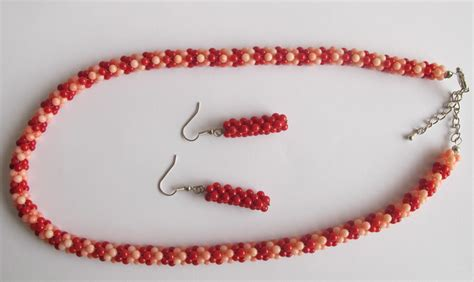 pink coral bead necklace pink coral bead necklace image search results