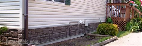 decorative mobile home skirting mobile home designs renovation photos with faux skirting